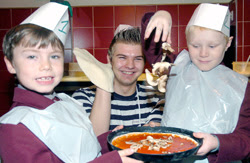 Pizzas And Other Stuff School Kids Learn How To Bake The