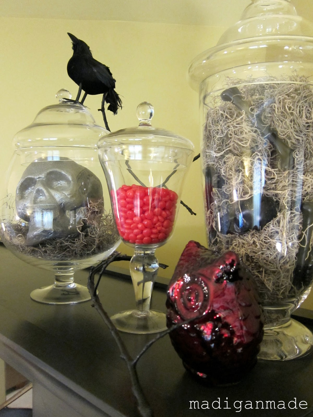 Halloween Apothecary Jars True Blood Inspired