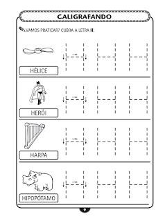 Atividades Pontilhadas Com As Letras Do Alfabeto Para Imprimir