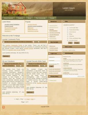 free joomla real estate template