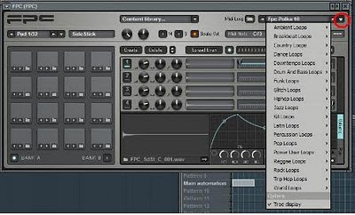 cara membuat beat loop di Fl studio