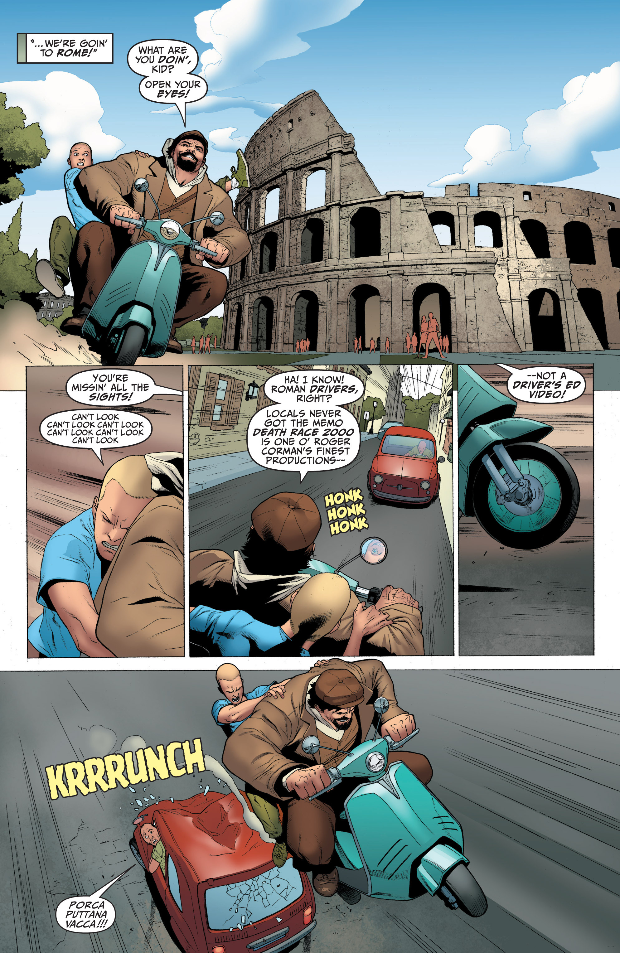 Read online Archer and Armstrong comic -  Issue #Archer and Armstrong _TPB 1 - 43