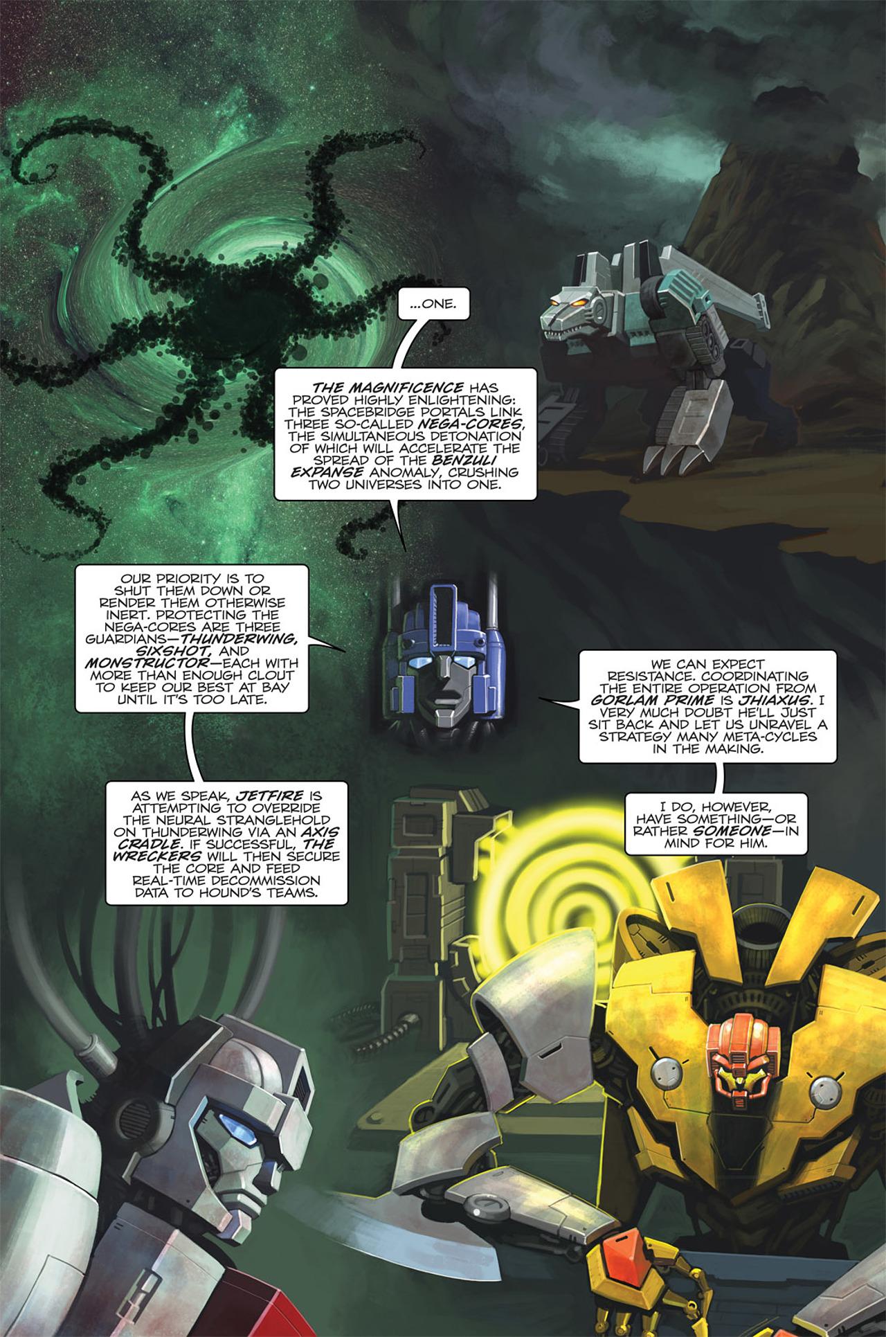 Read online Transformers Spotlight: Sideswipe comic -  Issue # Full - 8