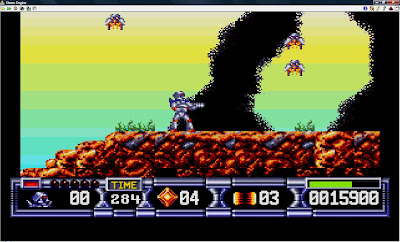 Retro-Gaming and Emulation: Turrican 2 - Atari ST