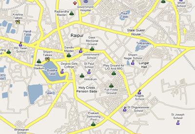 The Radioactive Yak: Google Maps India