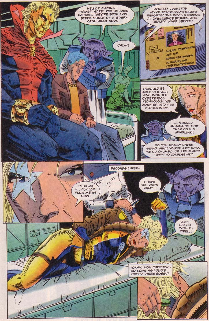 Read online Cyberspace 3000 comic -  Issue #7 - 10