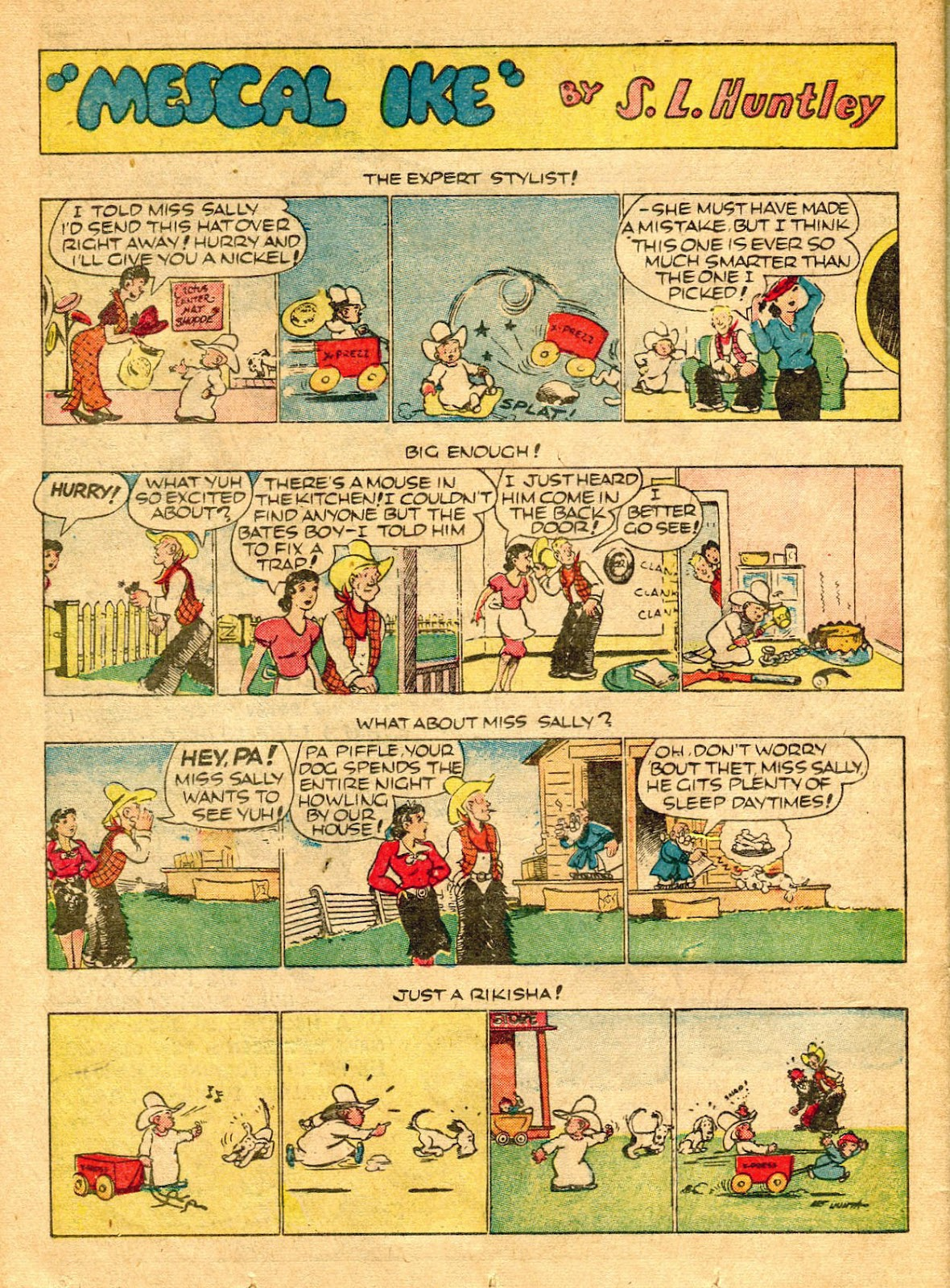 Read online Famous Funnies comic -  Issue #62 - 51