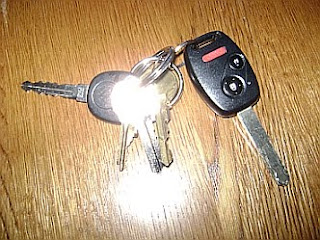 Even lost keys can shine the light!