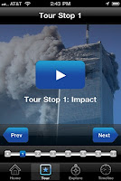 An app to explore - 9/11 in augmented reality