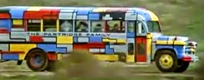 C'mon Get Happy on Pinterest | Partridge, David Cassidy ... |Partridge Family Bus Pattern