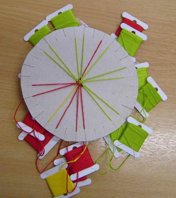 kumihimo, marudai, hilos, telar, tutoriales, manualidades, como hacer kumihimo