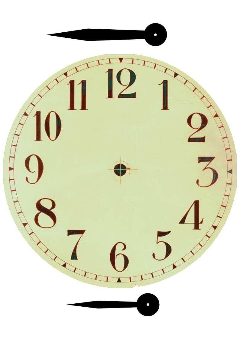 Plantillas para hacer relojes de pared 100 moldes - Relojes de pared ...