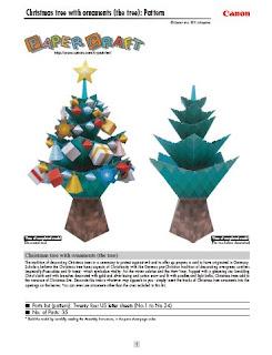 árboles, Navidad, recortables, árbol, fiesta, papel, manualidades