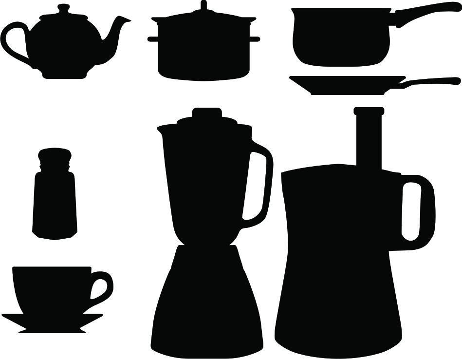 Enrhedando manualidades - Imagenes de cocinas para imprimir ...