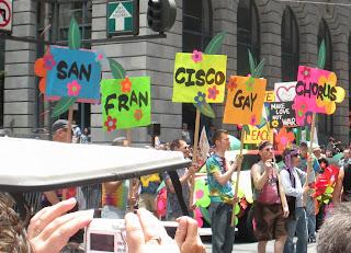 San Francisco Pride - San Francisco Gay Men's Chorus