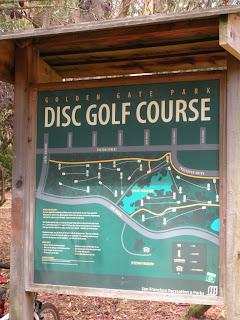 San Francisco Sunday Streets - Frisbee golf course in Golden Gate Park