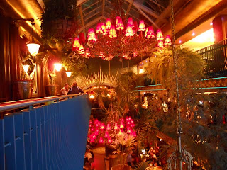 Dublin's Cafe en Seine: view from the upper floor