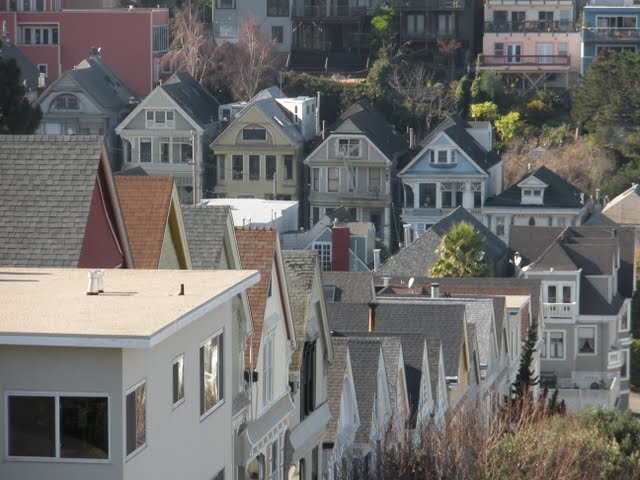 Why Lisbon Made me Nostalgic for San Francisco: SF's Victorian Hills