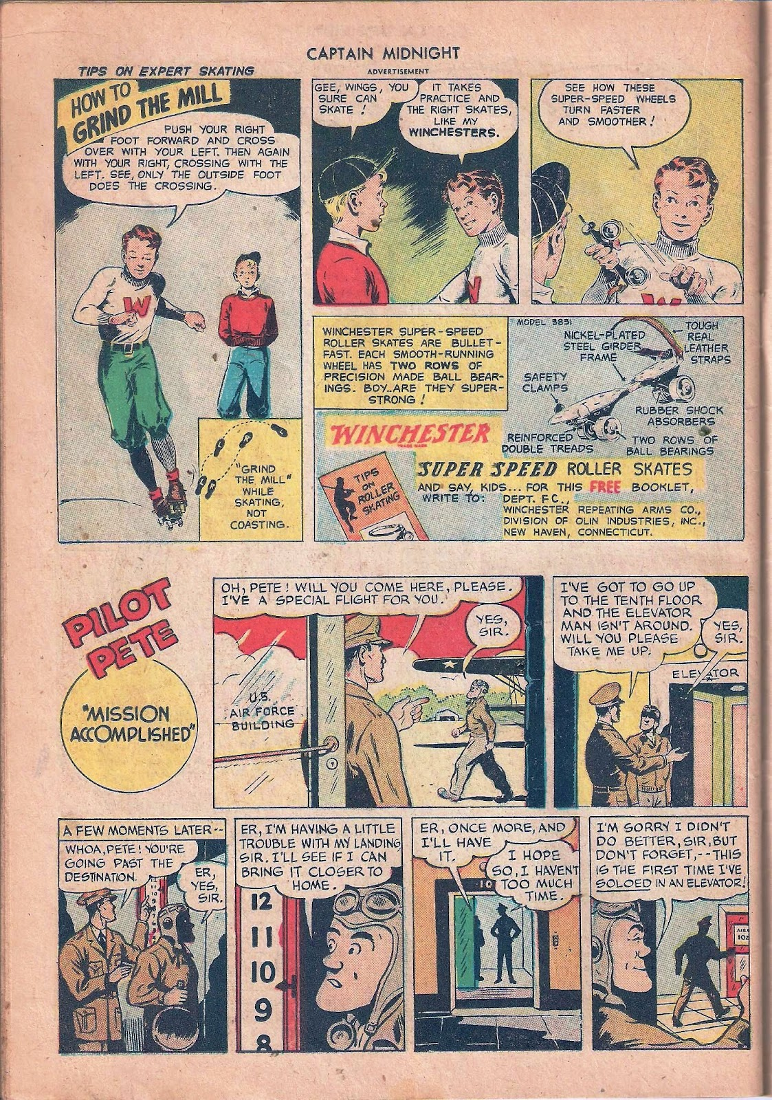 Captain Midnight (1942) issue 53 - Page 38