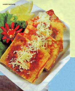 Omelet Kembung