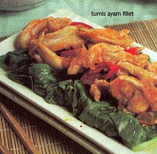 Tumis Ayam Fillet