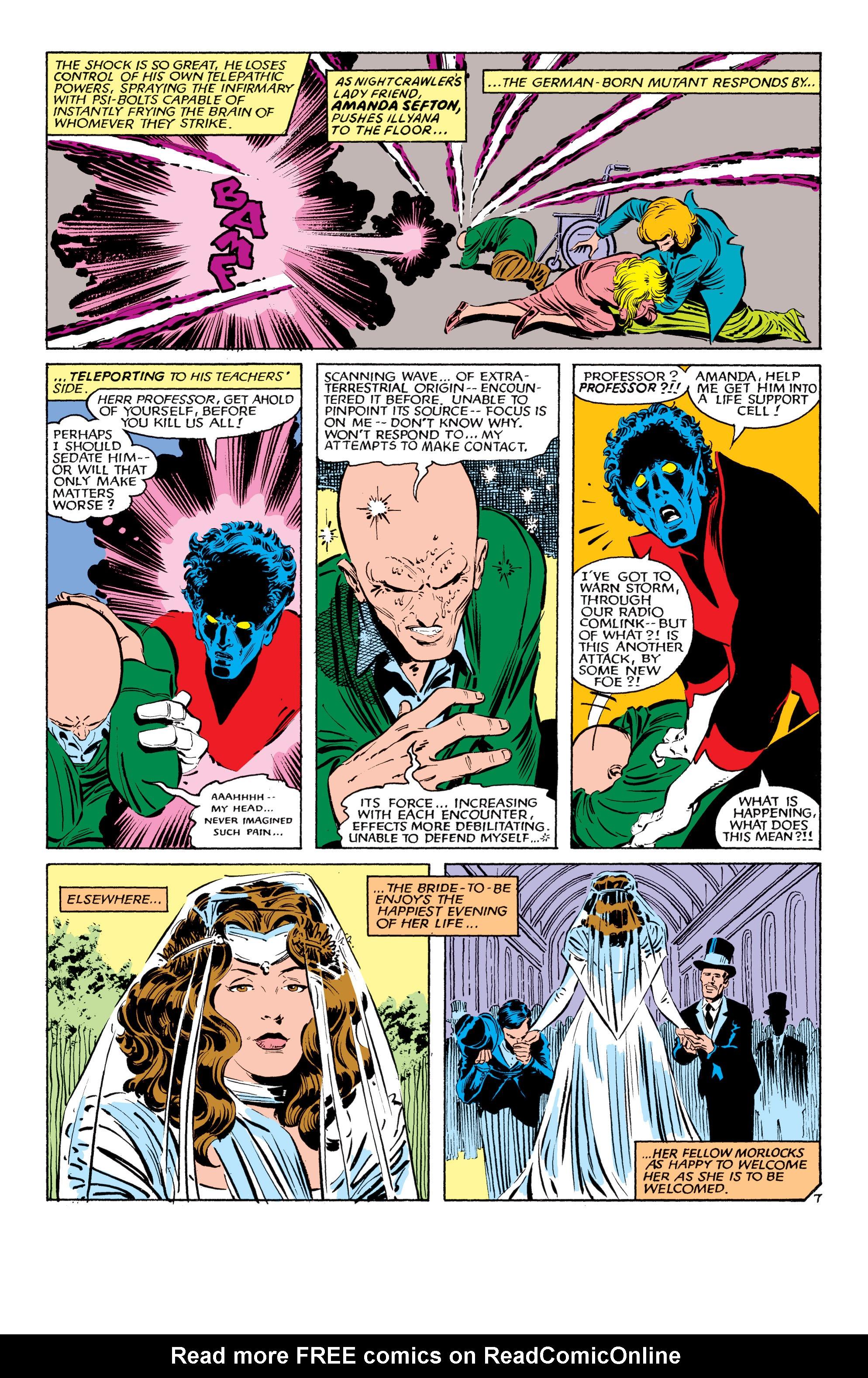 Read online Uncanny X-Men (1963) comic -  Issue #179 - 8