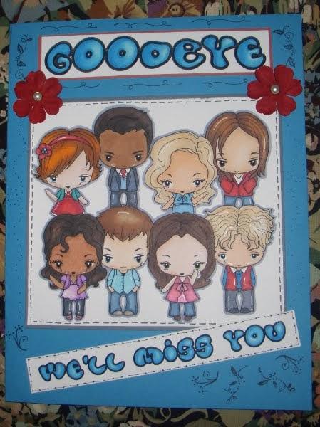 sammi's little bit of blogland a farewell card