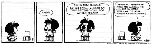 Amara´s Reading Records: Knowing Mafalda