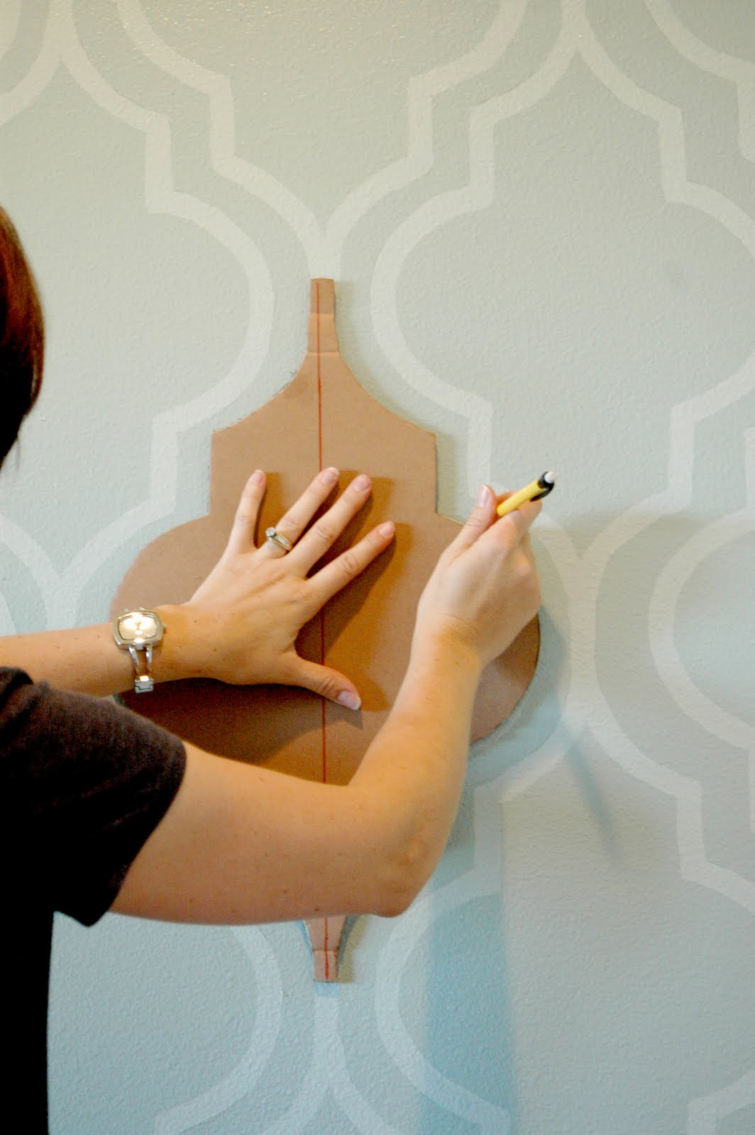 Wall Paint Styles: Nannygoat: Painted Wallpaper