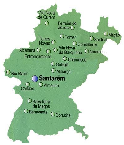 mapa de portugal distrito de setubal AuToCaRaVaNiStA: MAPAS DAS REGIÕES DE PORTUGAL CONTINENTAL mapa de portugal distrito de setubal