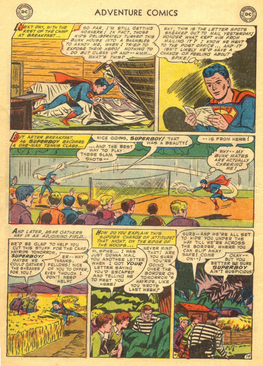Read online Adventure Comics (1938) comic -  Issue #203 - 12