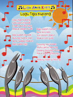 Lagu Tiga Kupang Jom Main Gitar
