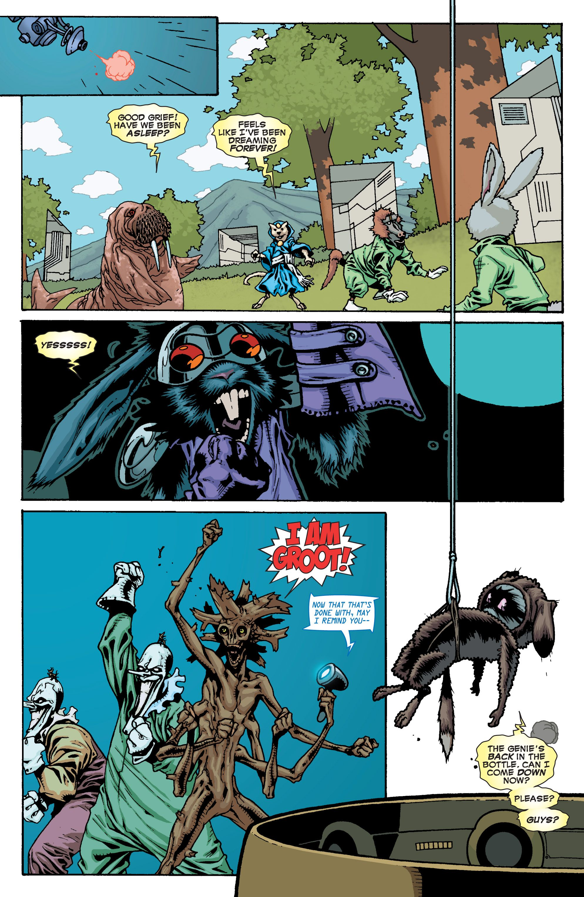 Read online Annihilators comic -  Issue #4 - 38