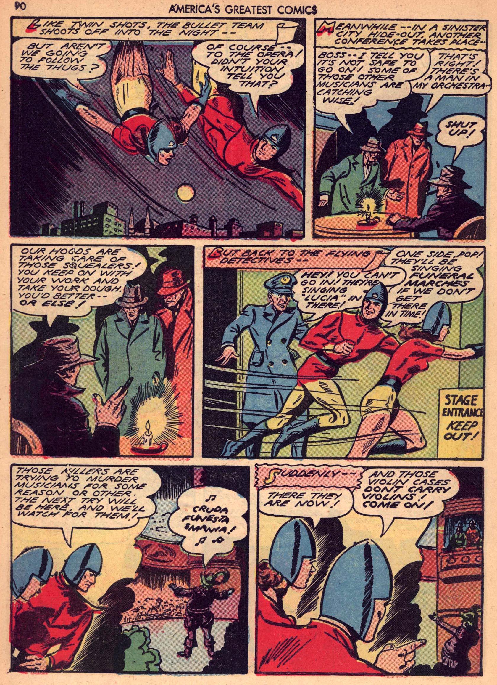 Read online America's Greatest Comics comic -  Issue #7 - 89