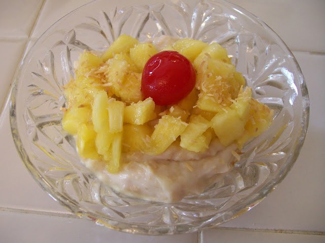 Tropical Pineapple Coconut Sugarfree Dessert Diabetes Bariatric Surgery Diet Food Recipes