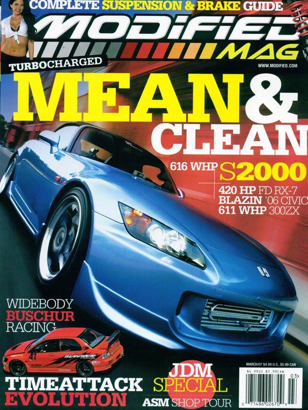 Tom's Honda S2000 Blog: Some Magazine Covers