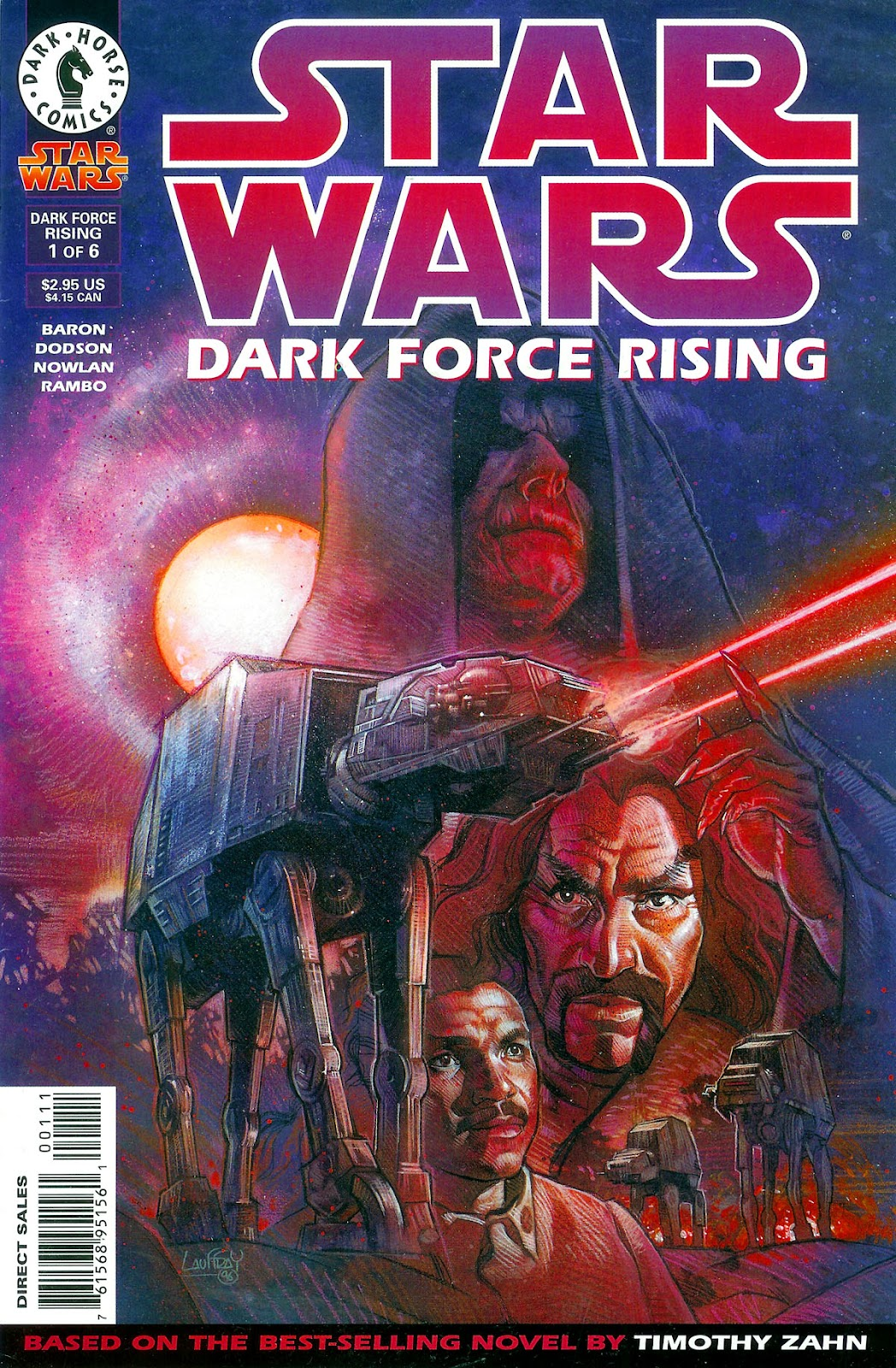 Star Wars: Dark Force Rising issue 1 - Page 1