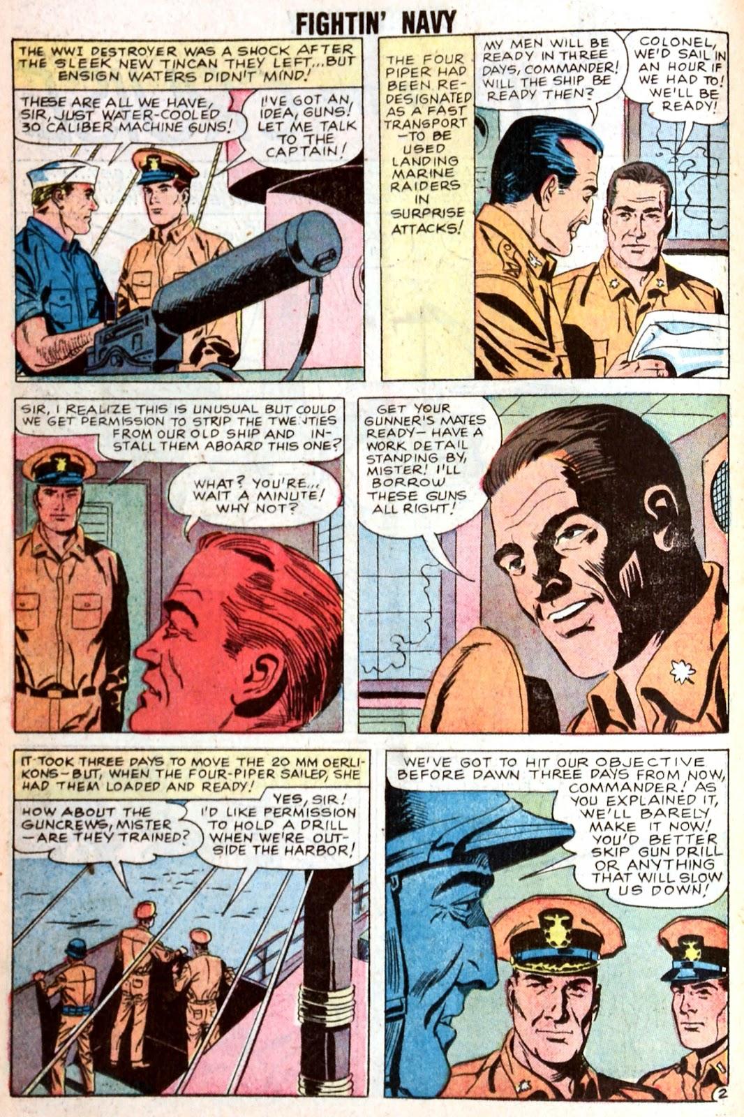 Read online Fightin' Navy comic -  Issue #85 - 14