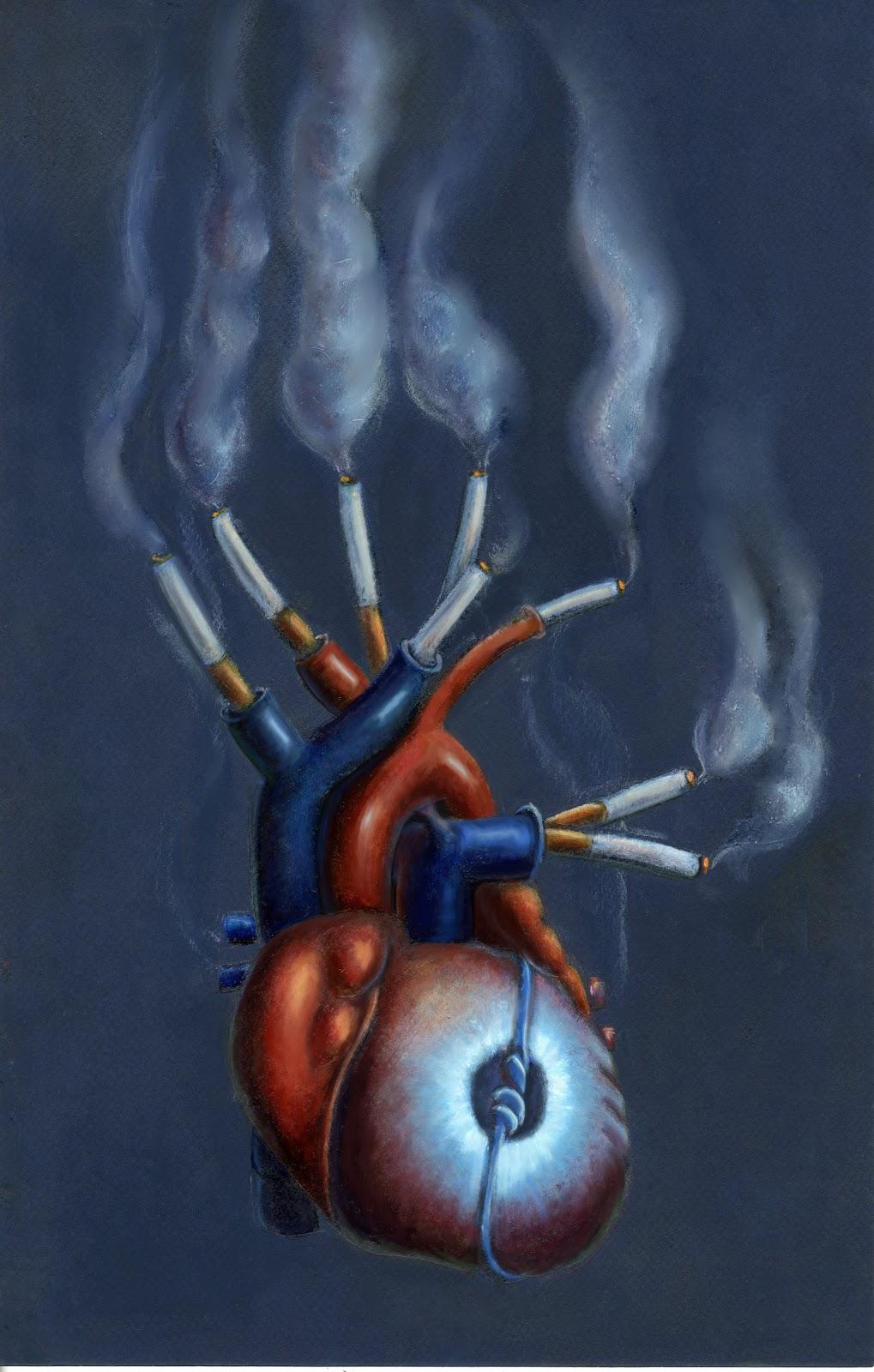 The Art Of Heba Farahat: Sad Heart