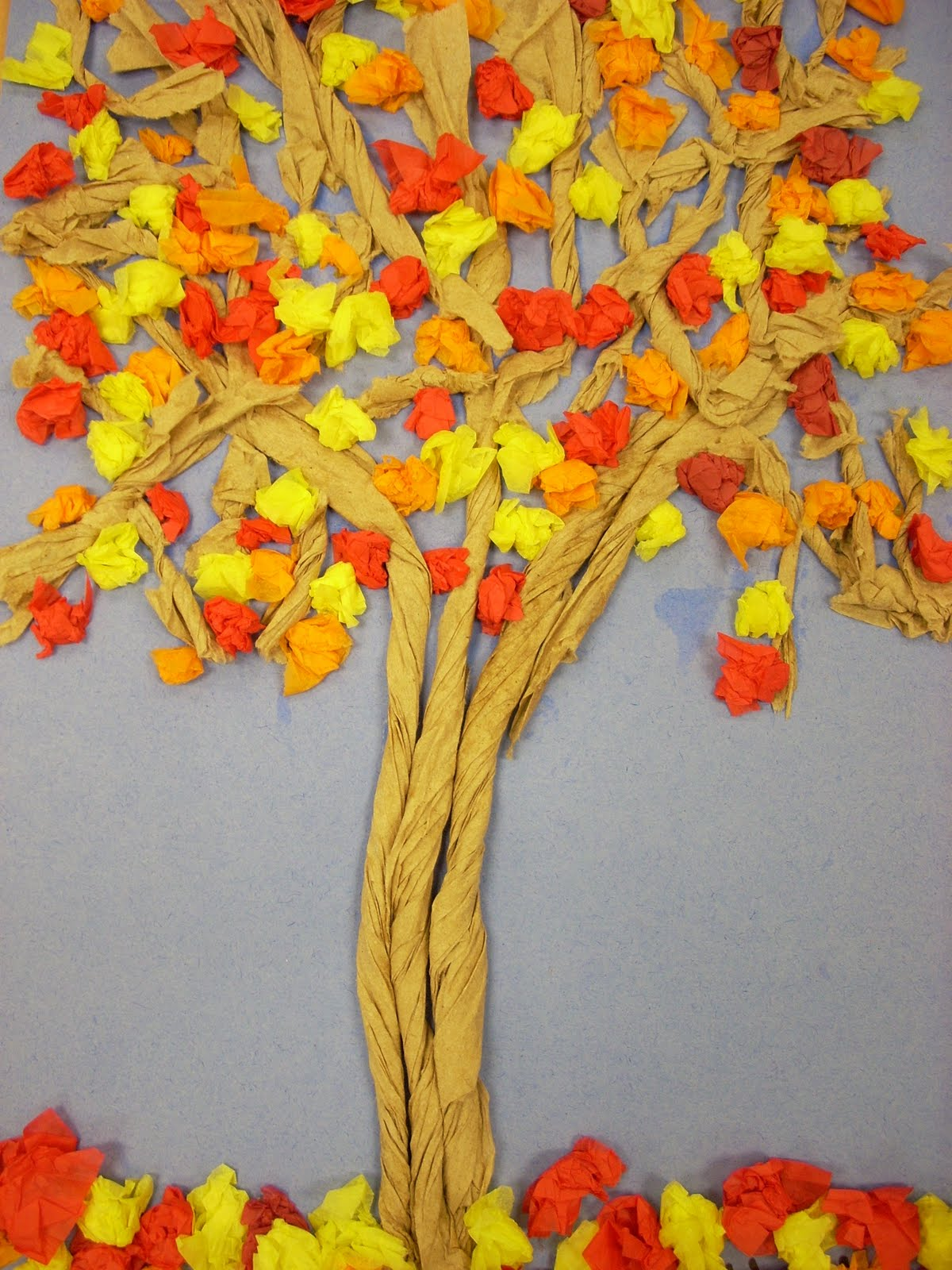 We heart art totally twisted trees for How to come up with painting ideas