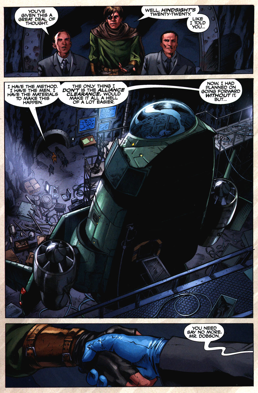 Read online Serenity comic -  Issue #2 - 18