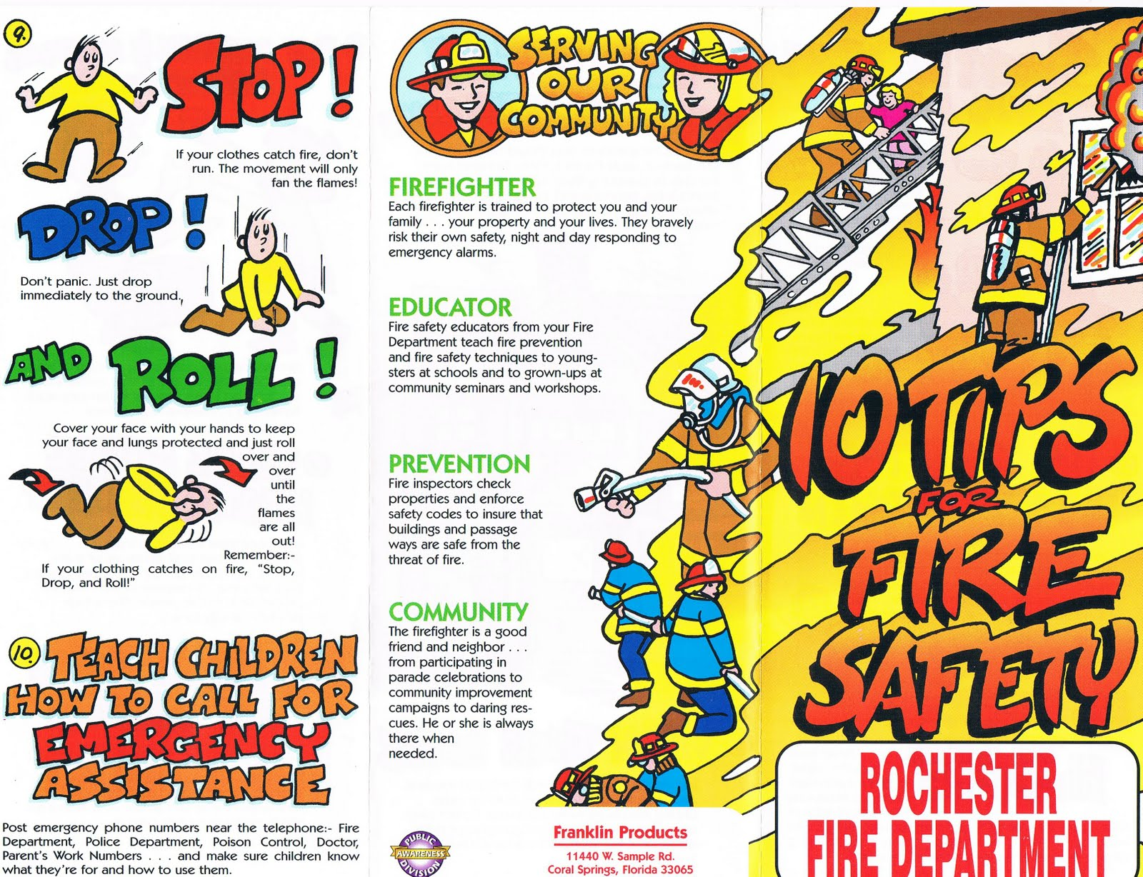 Lona Kids Fire Safety Tips From Lona S Rfd Engine 5 And