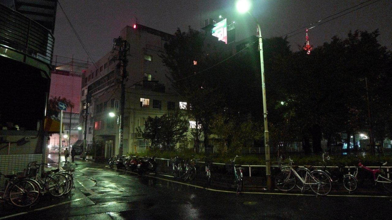 bigheadtaco com: A Rainy, Late Night Walk in Ikebukuro