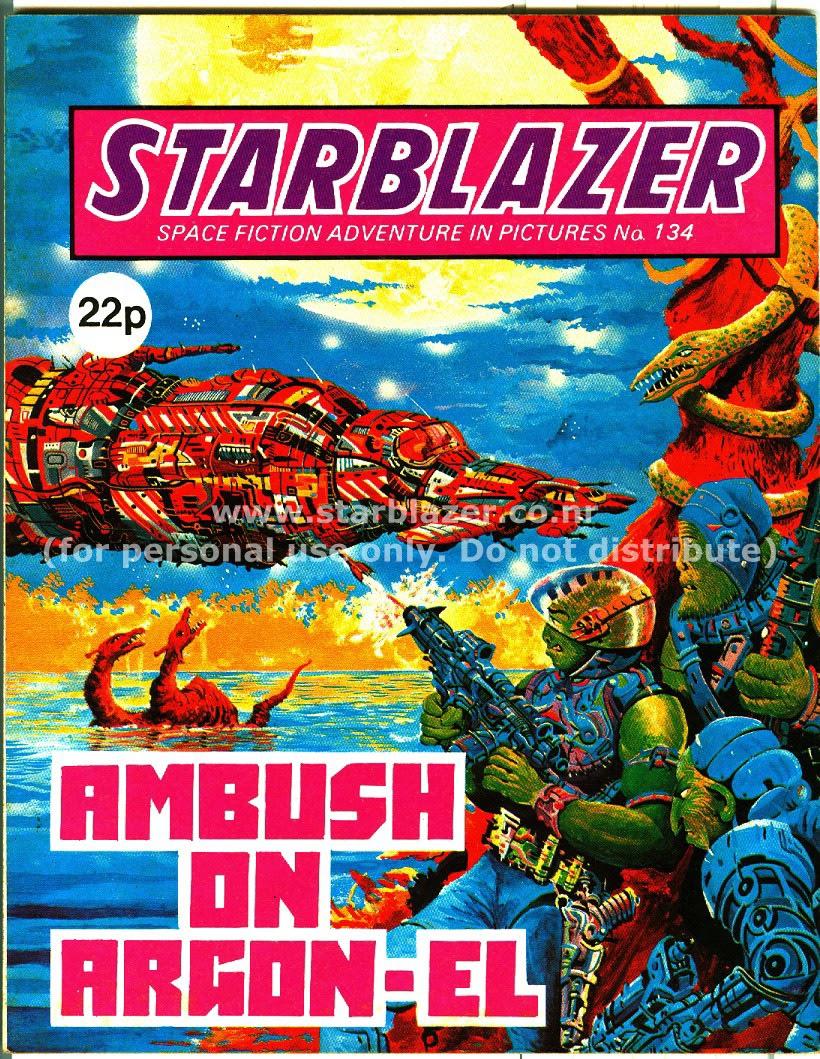 Starblazer issue 134 - Page 1