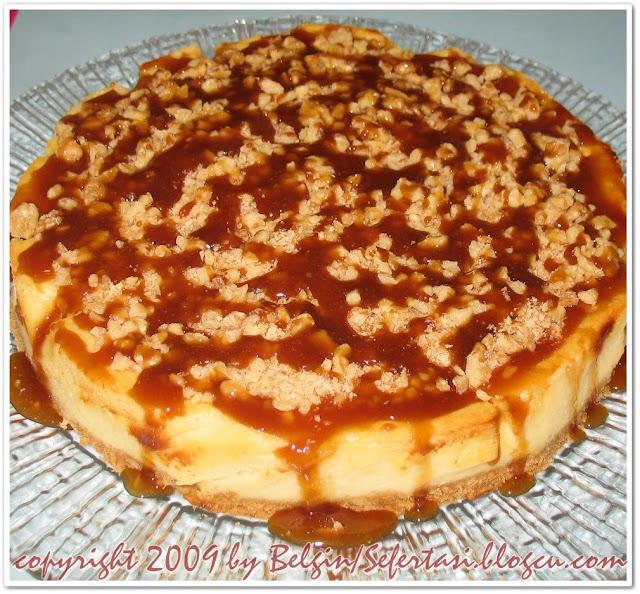karamelli cheesecake, peykek,çizkek