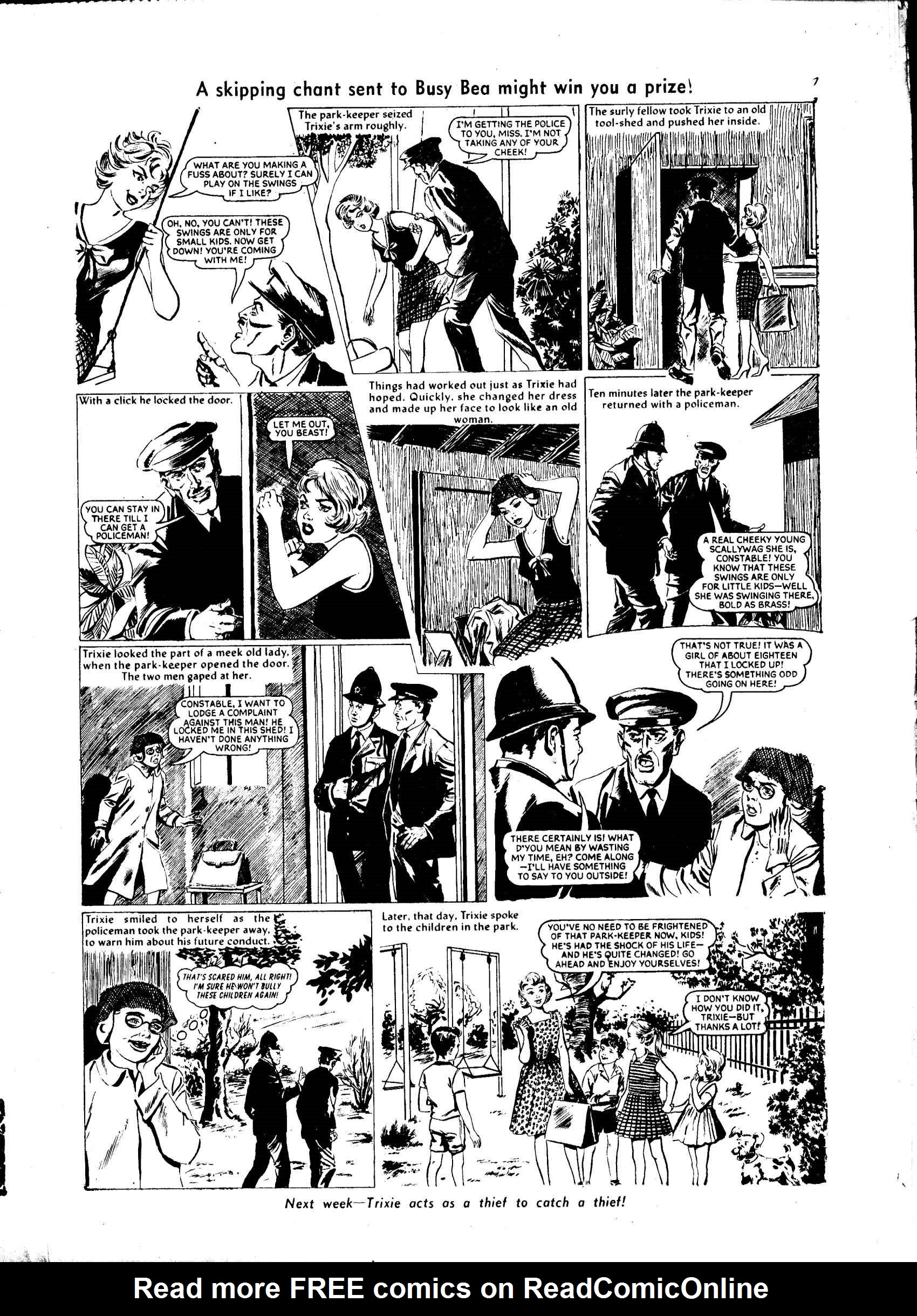 Read online Judy comic -  Issue #35 - 7