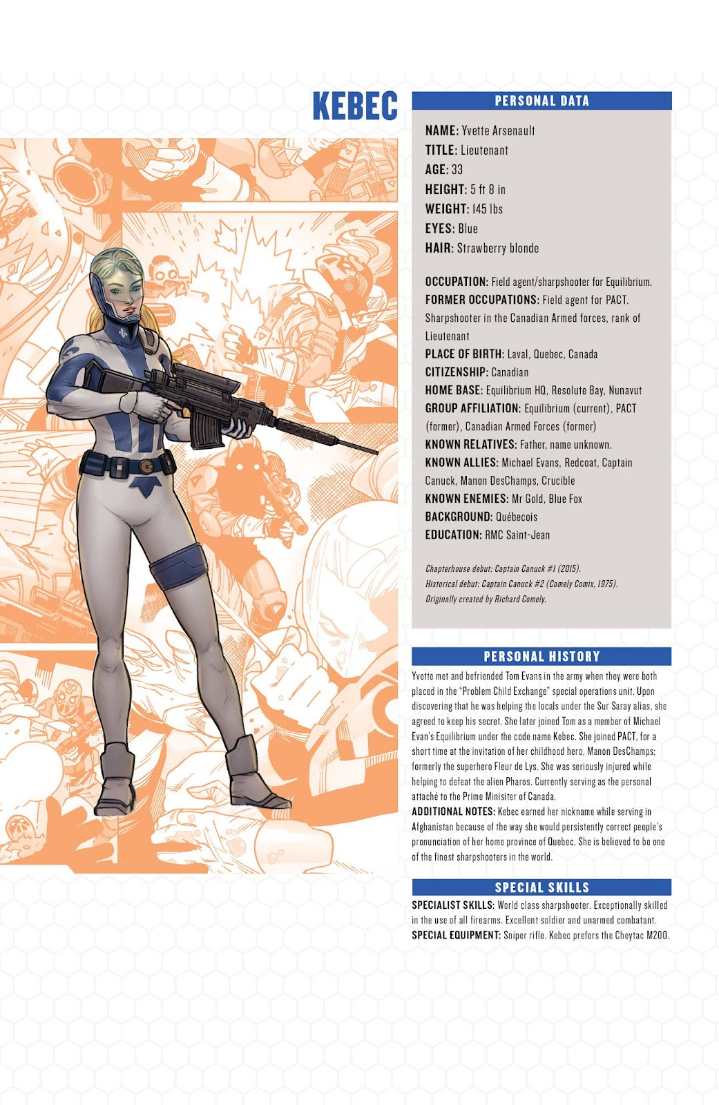 Captain Canuck: Invasion (Canada Day 2018) issue Full - Page 23