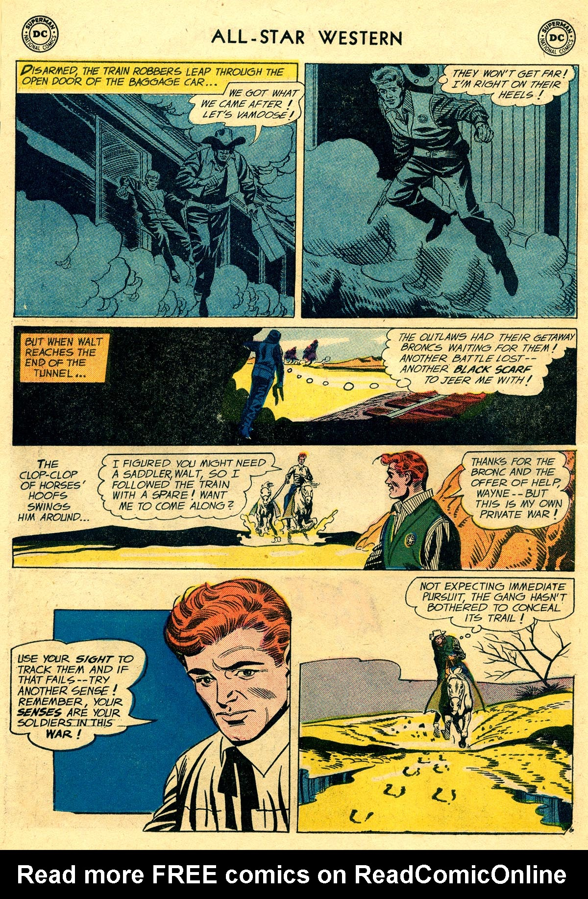Read online All-Star Western (1951) comic -  Issue #109 - 30