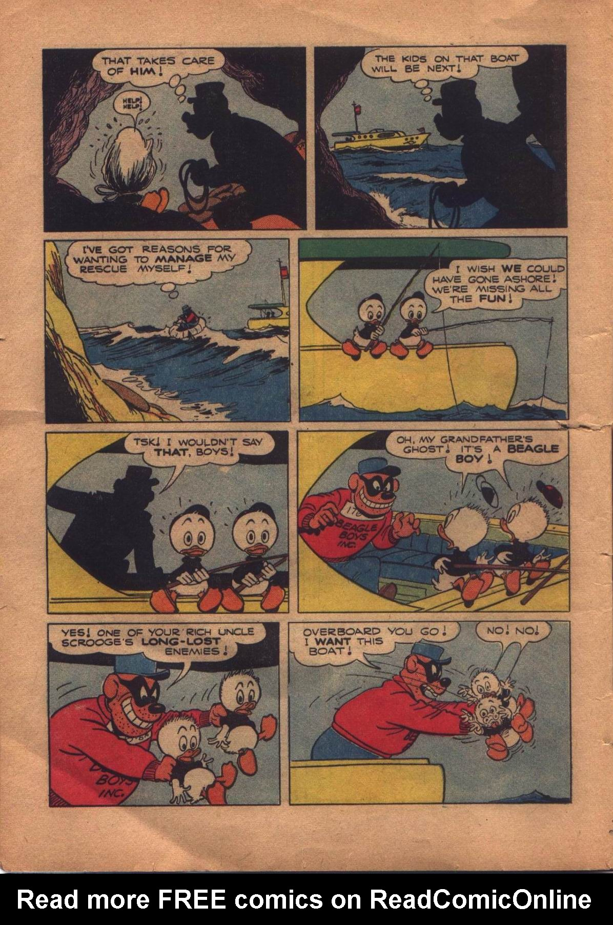 Read online Uncle Scrooge (1953) comic -  Issue #8 - 12