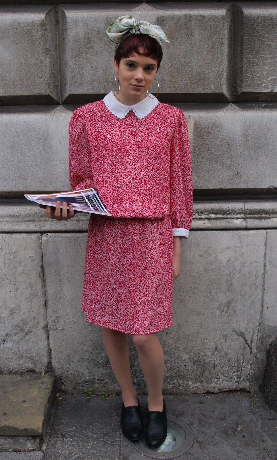 Styleeast London Fashion Week Street Style Pink